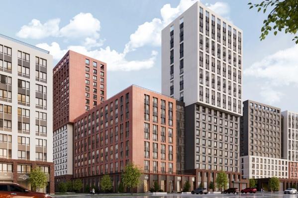 Жилые дома и инфраструктура нового жилого комплекса возводятся с учетом самых новейших тенденций архитектурных и строительных трендов