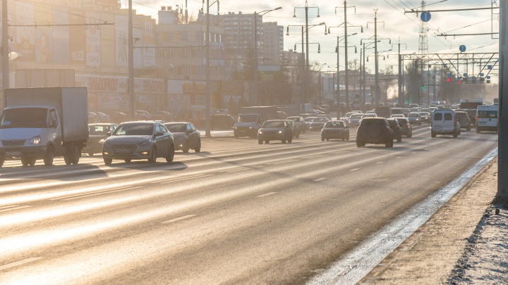 В Самаре начали ремонт Московского шоссе