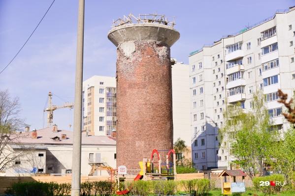 """По первоначальному контракту башню должны были снести до <nobr class=""""_"""">1 июня</nobr> 2021 года"""