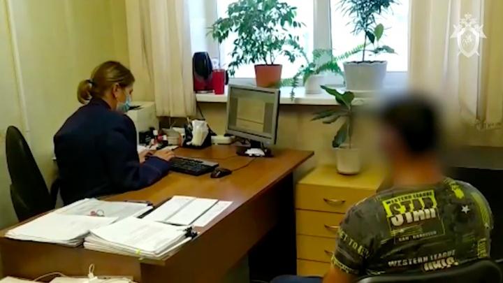 Опубликовано видео допроса подозреваемого в убийстве Вероники Коробкиной
