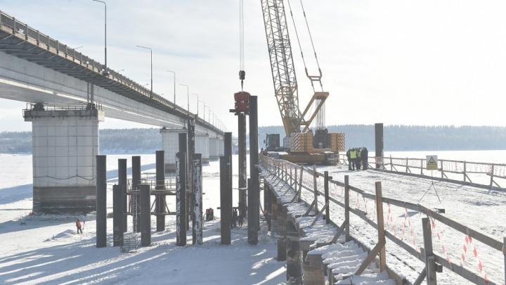 Строительство Чусовского моста обещают завершить в 2023 году