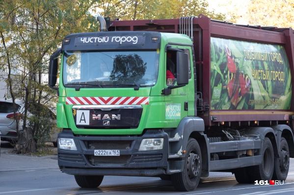 Норматив на вывоз мусора в Ростове-на-Дону занижен как минимум на 40%