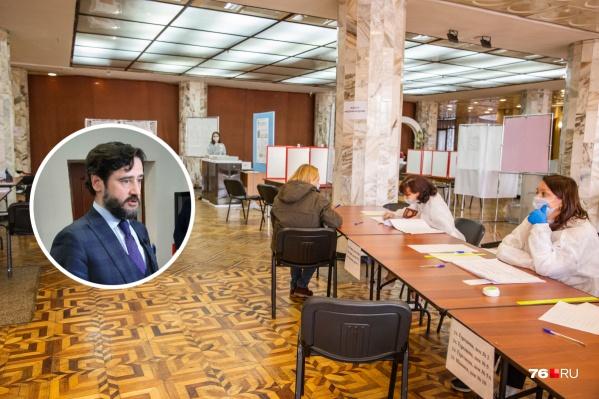 Олег Захаров прокомментировал итоги выборов в Ярославской области