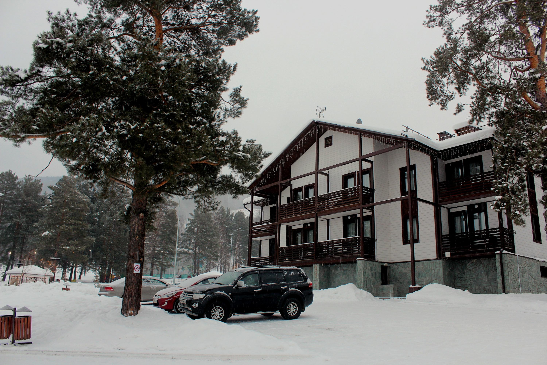 Один из гостиничных корпусов