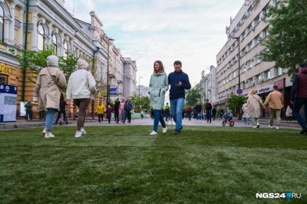 Сделать Мира пешеходным власти намерены и в следующем году
