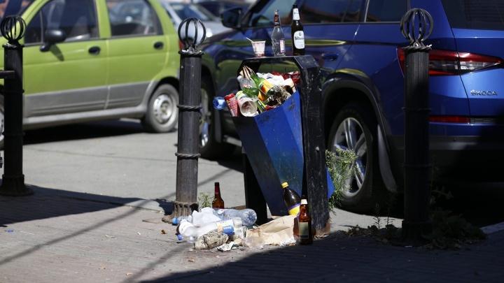 Мэр отчитала зама за бутылку, пролежавшую несколько дней на газоне в Челябинске (всё выглядело как чтение по ролям)