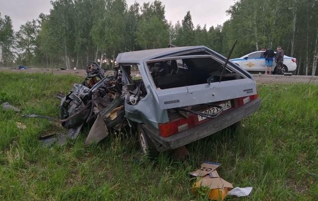 26-летний тюменец погиб в ДТП с фурой под Ялуторовском