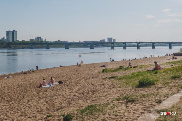 Пляжи Перми планируют открыть 10 июня — сразу после проверки на безопасность