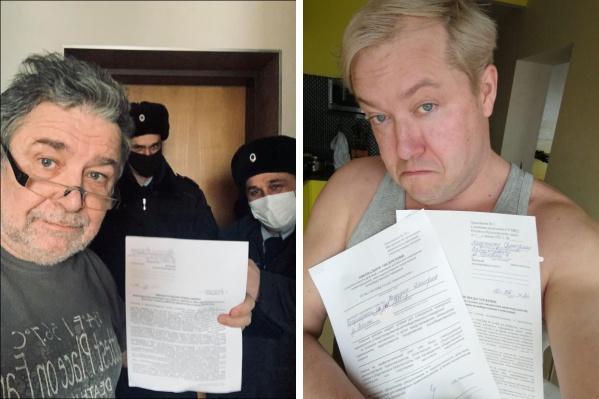 Полиция приходила к медиадеятелю Владимиру Перекотию, журналисту Дмитрию Полушину и другим