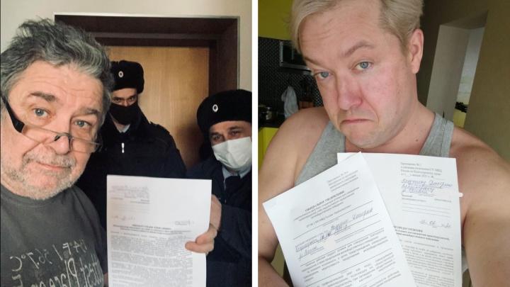 В Красноярске полиция пытается приравнять акцию с фонариками к несогласованному митингу