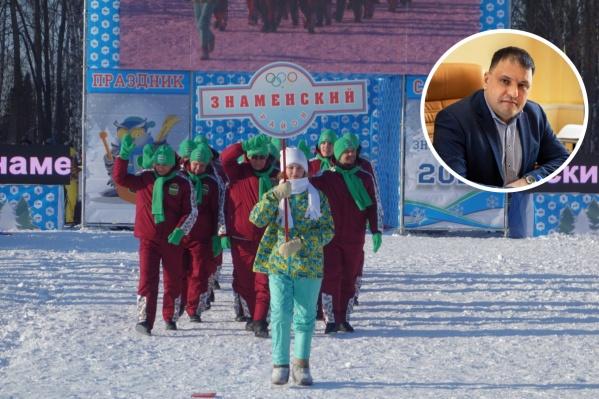 Новый глава — уроженец Знаменки, но последние два года жил и работал в Омске