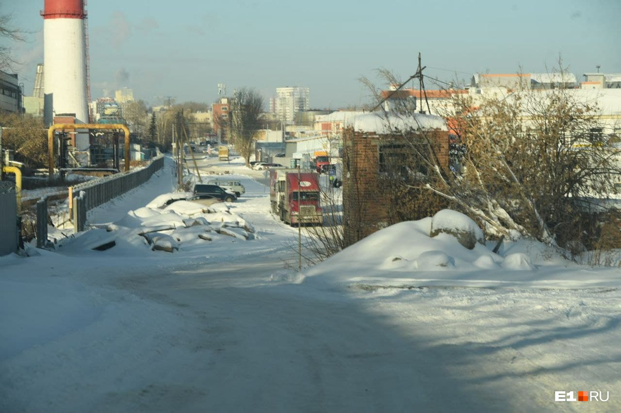 Вот так выглядит улица Толедова