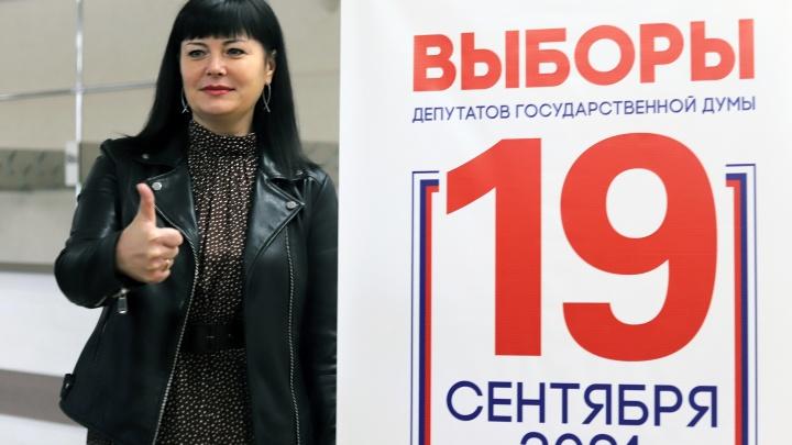 Курган голосующий: фоторепортаж с избирательных участков