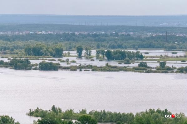 Паводок в регионе еще не достиг своего пика