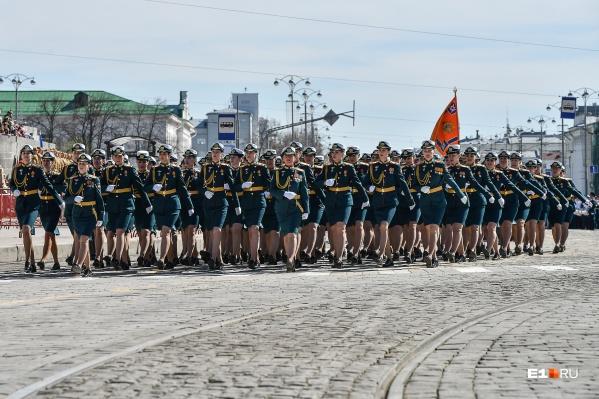 Военный парад — это еще и красиво
