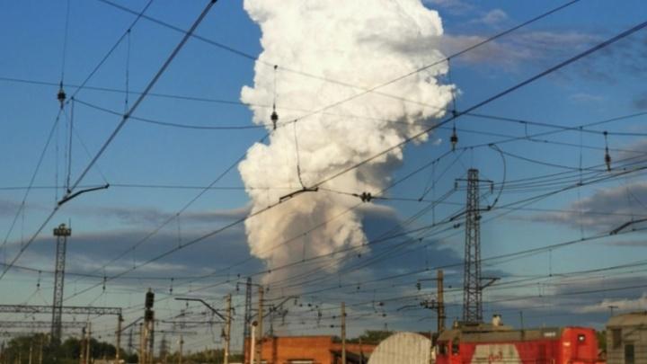 В Прикамье ликвидировано факельное горение на взорвавшемся газопроводе