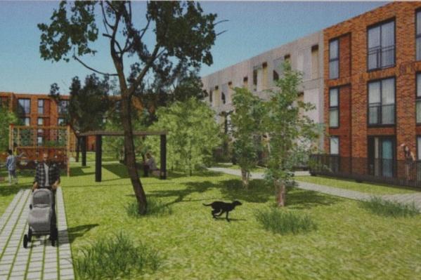 Парковок во дворах нового поселка не будет
