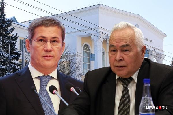 Доктору физико-математических наук, профессору Роберту Якшибаеву не понравились чиновники от науки, которые пришли от Хабирова