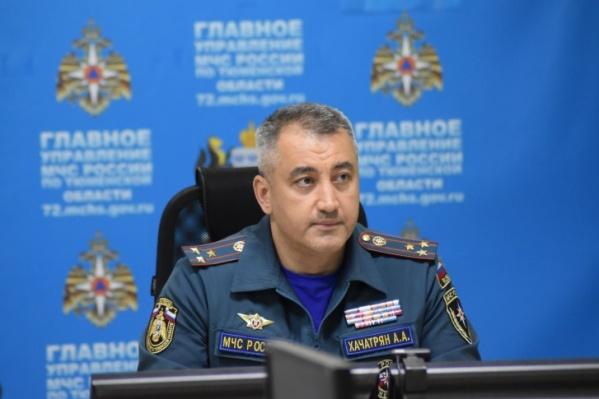 Артур Хачатрян приехал в Тюменскую область в конце 2019 года