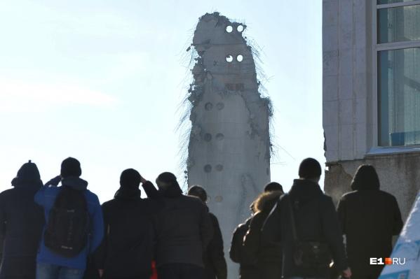 Телебашня много лет была символом Екатеринбурга