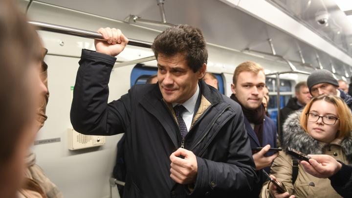 «Мне в Москве говорили, что у нас люди против метро». Последнее интервью Высокинского перед уходом в Совфед