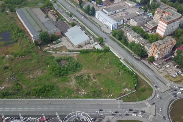 На участке между Луначарского, Московским шоссе и Мичурина хотят построить 10 многоэтажек