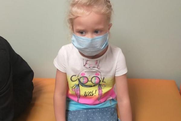 Ребенка привезли в больницу