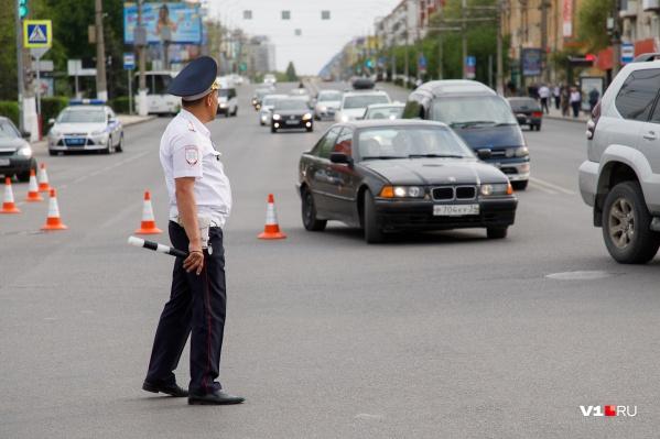 На 9 мая не исключены локальные перекрытия проспекта Ленина