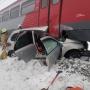 В Башкирии «Лада-Калина» попала под колеса электрички. Погибли два человека