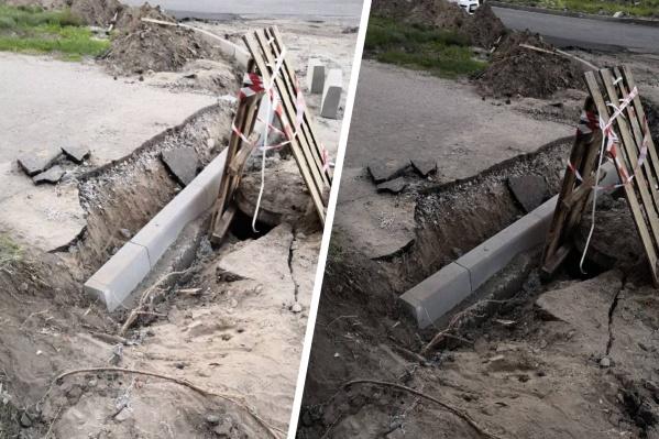 Дорожные активисты уверены, что это некачественный ремонт