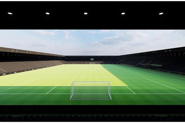 """Внешний вид нового стадиона был продиктован желанием <nobr class=""""_"""">заказчика —</nobr> Сергея Галицкого"""