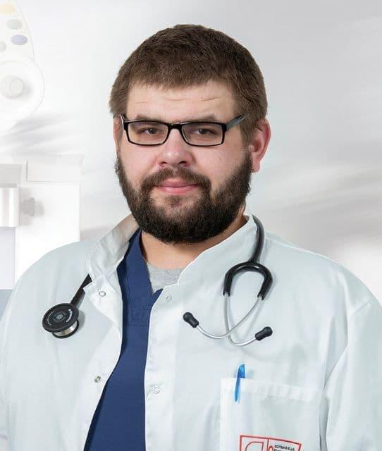 Заведующий отделением особо опасных инфекций больницы имени Боткина Владимир Капацына