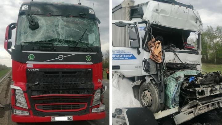 Стали известны подробности аварии с шестью грузовиками в Самарской области