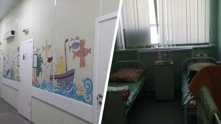 В детской больнице в Новосибирске ребенок травмировал голову при эвакуации из-за ложной пожарной тревоги
