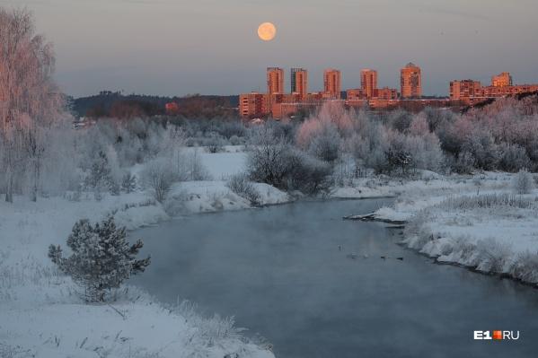 Следующей ночью в Екатеринбурге вновь будут тридцатиградусные морозы