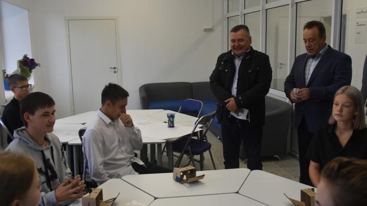 Председатель краевого парламента Валерий Сухих с рабочим визитом посетил Чайковский городской округ