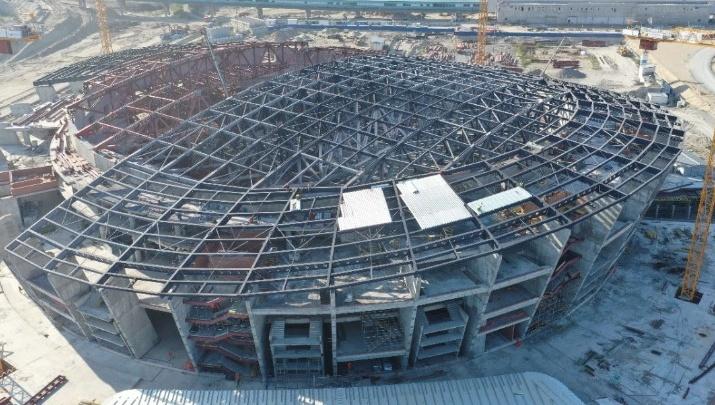 «Срывов не будет»: Третьяк рассказал о ходе строительства нового ЛДС в Новосибирске