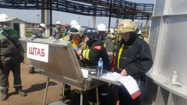 В «Башнефти» прокомментировали пожар на своем заводе