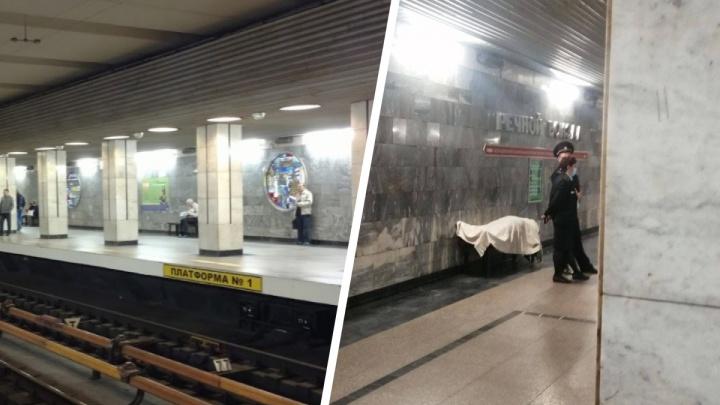 Женщина умерла на станции метро «Речной вокзал» в Новосибирске