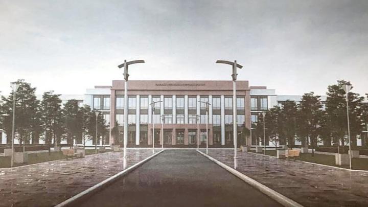 В Омске строят новый кадетский корпус встиле хай-тек. Рассматриваем проект вблизи