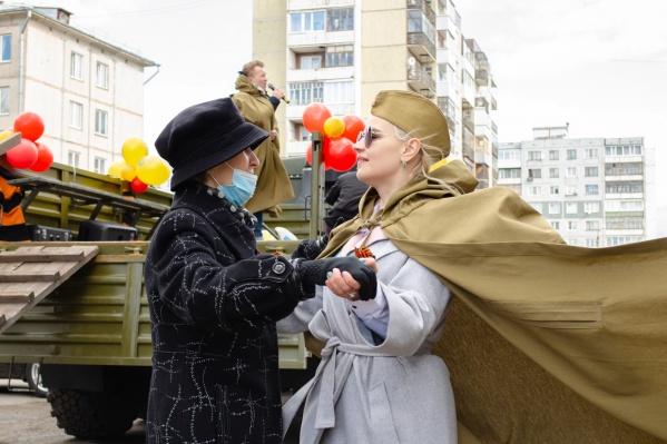 «Фронтовая бригада» выступила перед жителями Майской Горки
