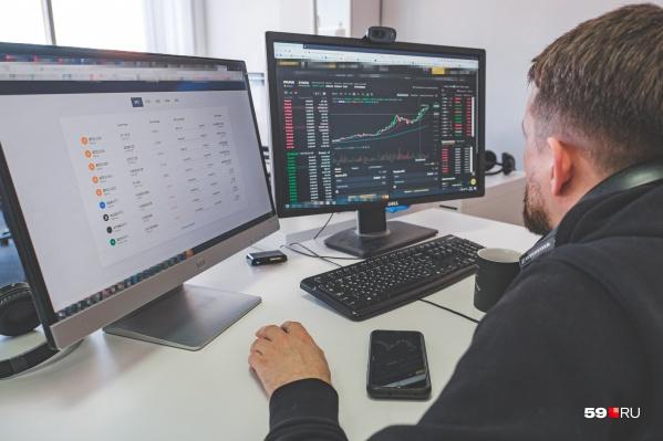 Трейдеры зарабатывают на изменении стоимости криптовалют