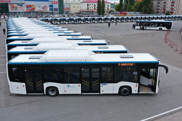 Новенькие автобусы появятся на уфимских улицах совсем скоро
