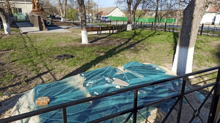 На родине Шолохова власти снесли два памятника — воинам-афганцам и чернобыльцам