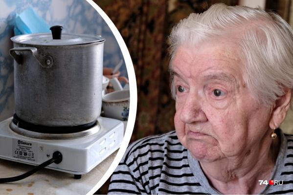 Тамара Яковлевна уже 9 месяцев не может нормально готовить себе еду