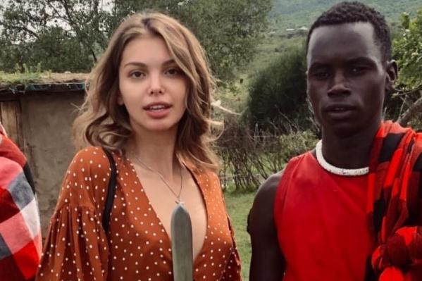 Лидия Пономарева провела свои январские каникулы в Африке. Там с ней и произошел неприятный инцидент