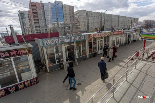 Журналисты 74.RU насчитали на Комсомольском проспекте 334 ларька
