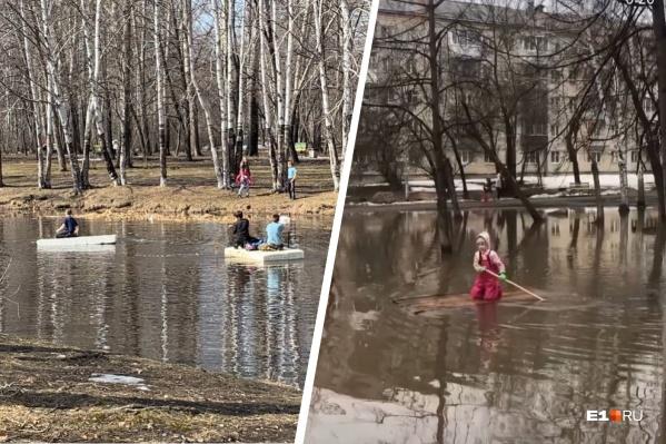 В парке 50-летия ВЛКСМ и парке Энгельса можно устраивать заплывы