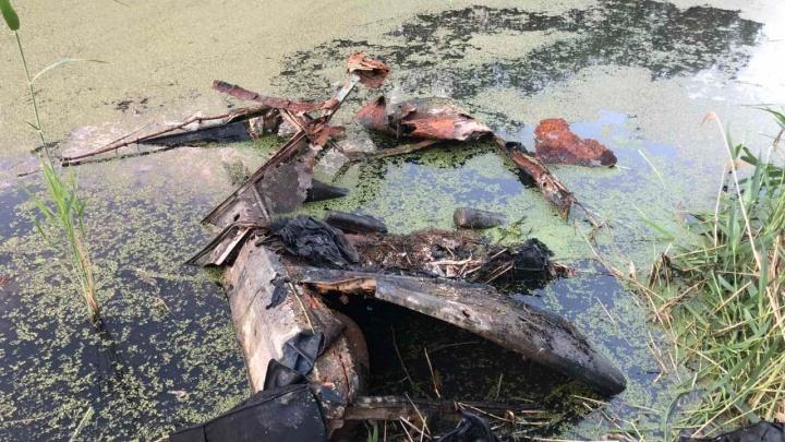 В Тюмени в Студенческом пруду нашли «шестерку» с человеческими костями