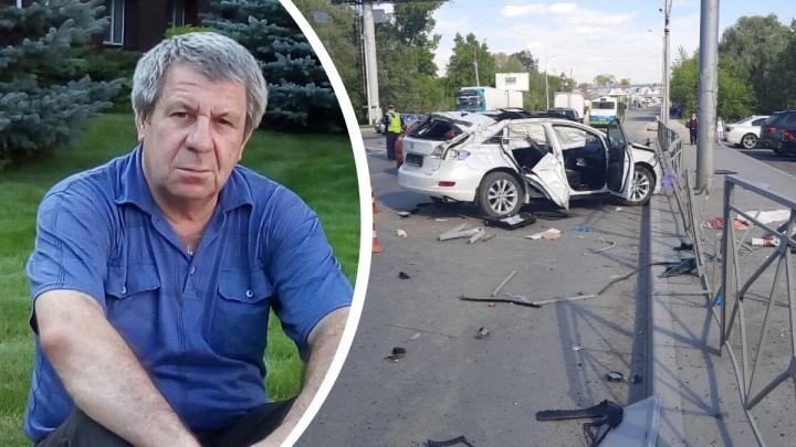 В Новосибирске возбудили дело после аварии с «Тойотой», которая перевернулась 5 раз на Большевистской